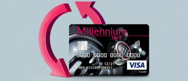 Promocja karty kredytowej Banku Millennium: premia 300 zł