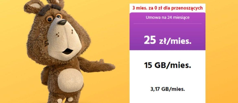 Promocja Plush: abonament gratis za przeniesienie numeru