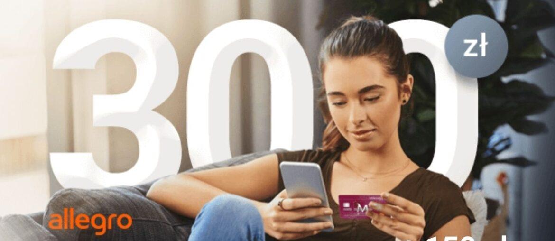 Promocja karty kredytowej Millennium: 300 zł do Allegro