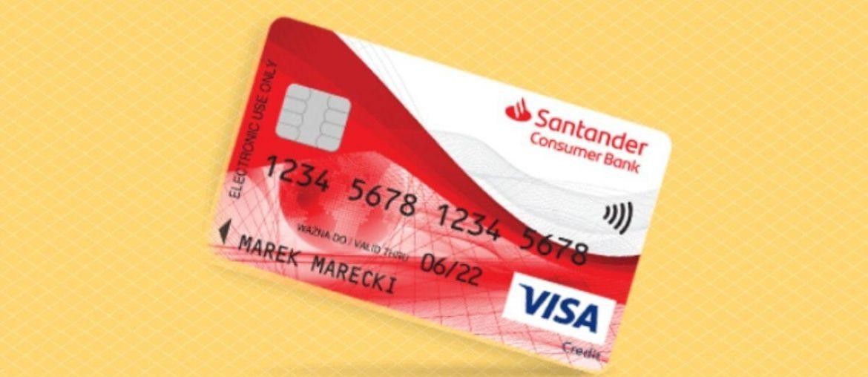 Karta Kredytowa Santander Consumer Bank - promocja