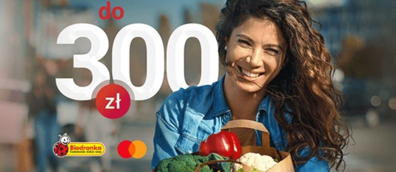 Promocja karty kredytowej Banku Millennium: 300 zł do Biedronki